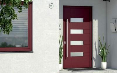Dveře s jednostranně překrytou výplní