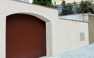 rolovací garážová vrata 2