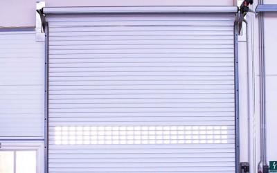 rolovací průmyslová vrata 2