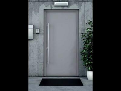 Dveře KR001 - RAL 9007