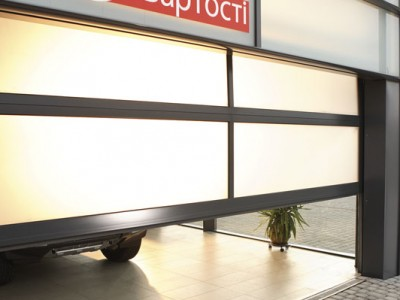 Hliníková vrata ALM plus (2)